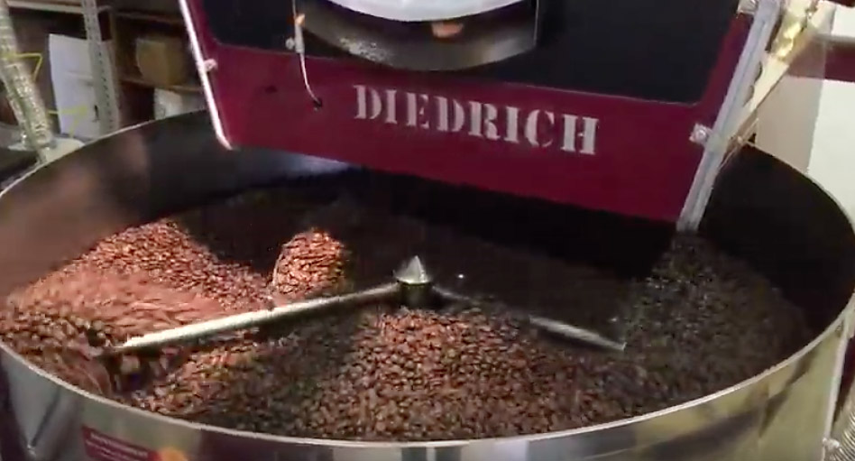 Chestnuts roasting on an open fire? I'd rather have fresh roasted coffee!